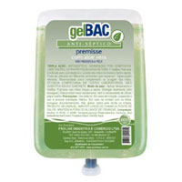 Gel Bac Anti-Séptico (Álcool Gel 70°) Sem Aloe Vera 800ml
